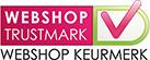Onze vermelding op http://www.webshoptrustmark.be